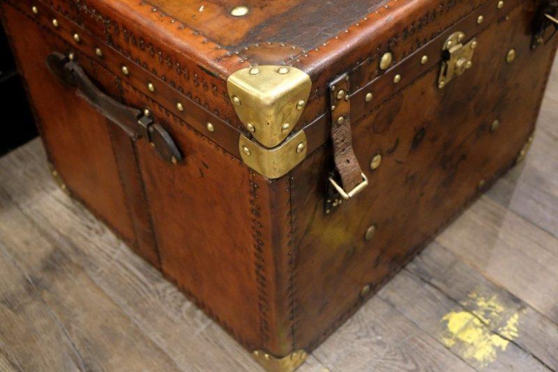 Grote Leren koffer