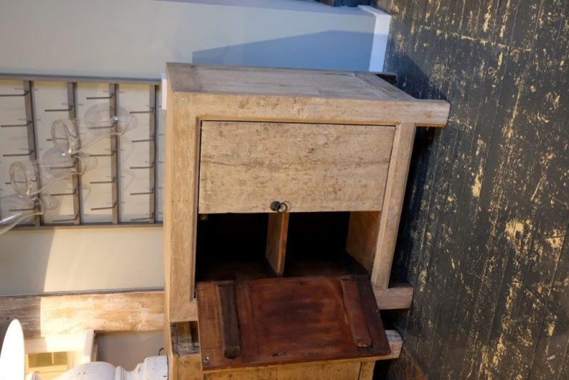Small Old Pine Cabinet
