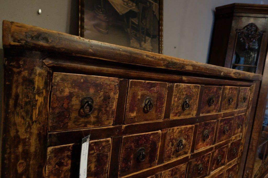 Chinese Herbal Medicine Cabinet