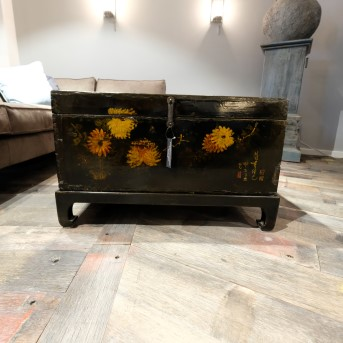 Chinese Lacquered Small Table