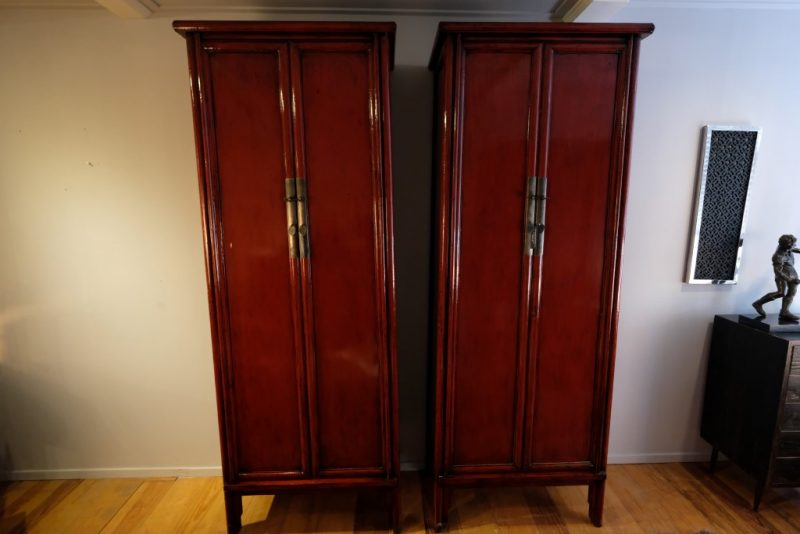 Red Lacquered Cabinet