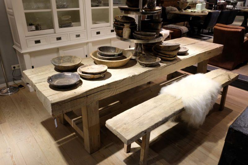 Robuuste Old Pine Tafel