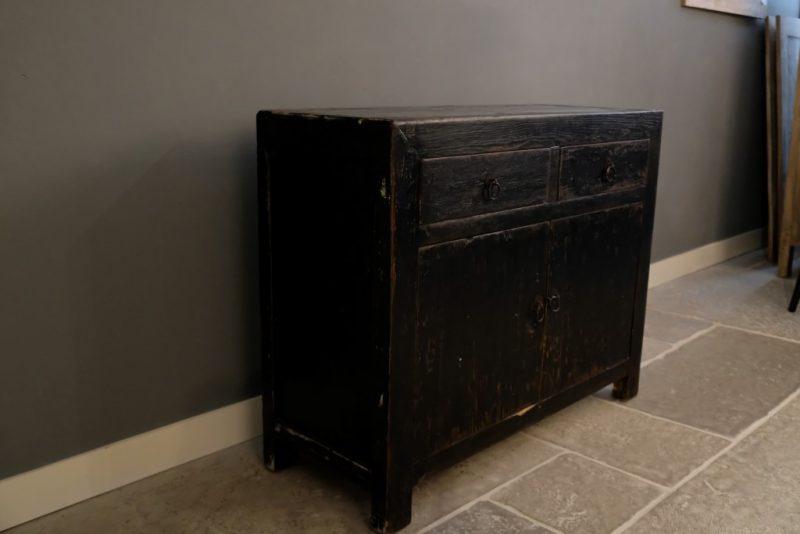 Black Vintage Dresser