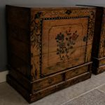 Chinese Lacquered Cabinets