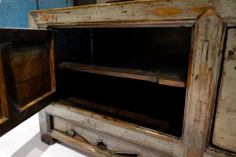 Groen Gelakt TV-meubel
