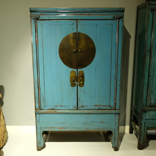 Blue Lacquered Cabinet