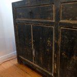 Zwart Old Pine Dressoir