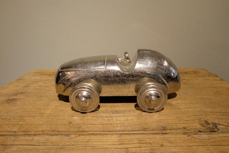 Zilveren Modelauto