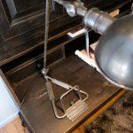 Bureaulamp Zilver