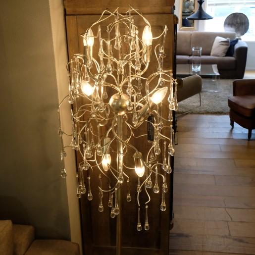 Omo Silver Lampe