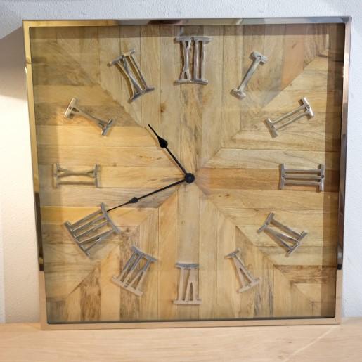 Quadratische Uhr