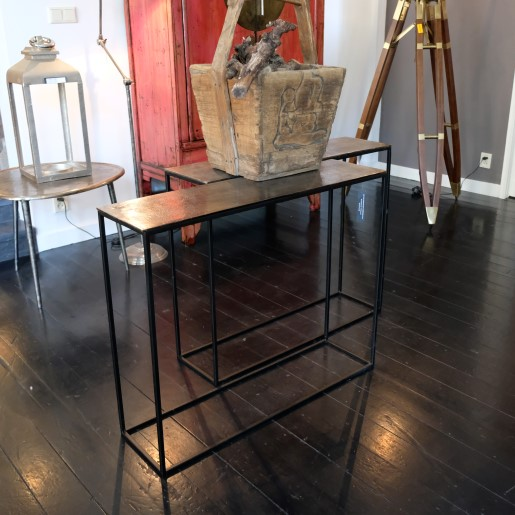 Metal Wall Table