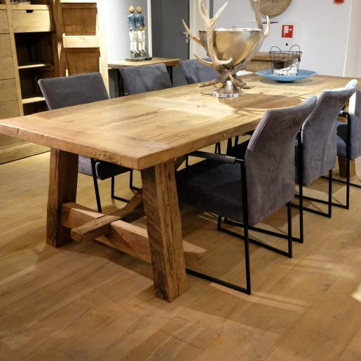 Stone Oak Table