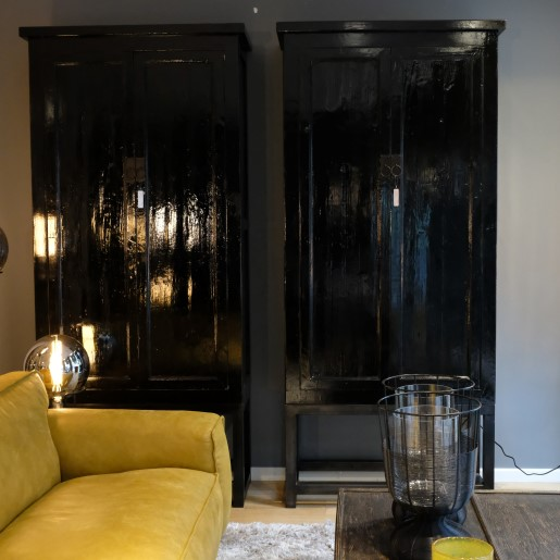 Black Lacquered Cabinet