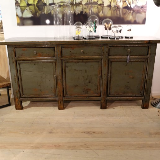 Lacquered Antique Sideboard