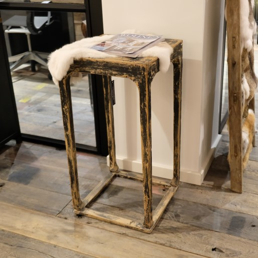 High Wooden Wall Table